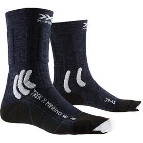 X-Socks Trek X Merino Socks Women midnight blue/arctic white